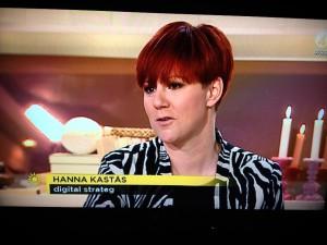 Hanna Kastås, digital strateg på Bazooka - haha, det är ju jag!